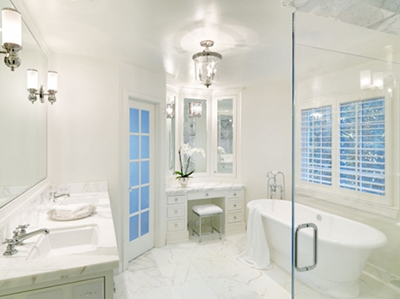Before after interior renovation and design - Bathroom remodeling charlottesville va ...