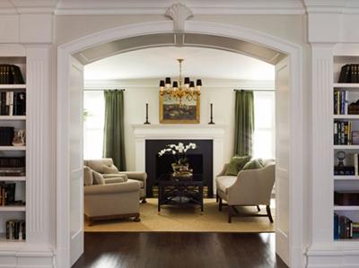 AFTER: Beverly Hills Living Room