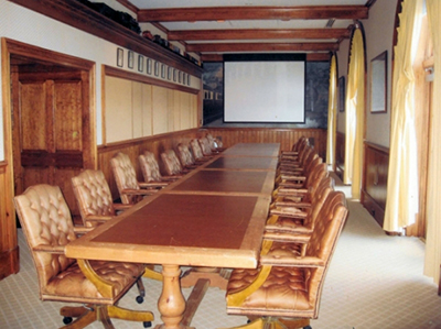 BEFORE: Keswick Hall Boardroom